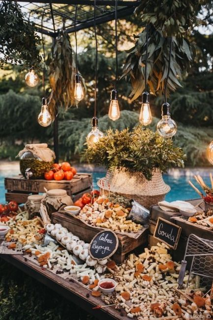 ¿Incluiréis una mesa de quesos en el aperitivo? 🧀 1