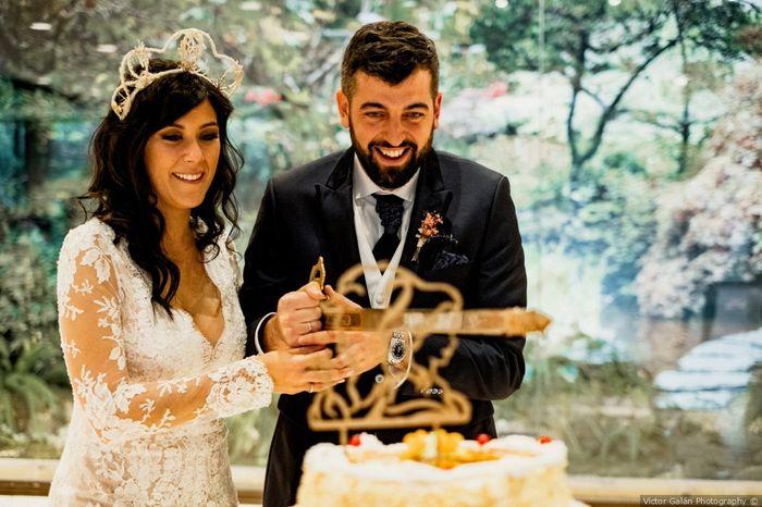 Me caso... ¿cortando la tarta o no? 1