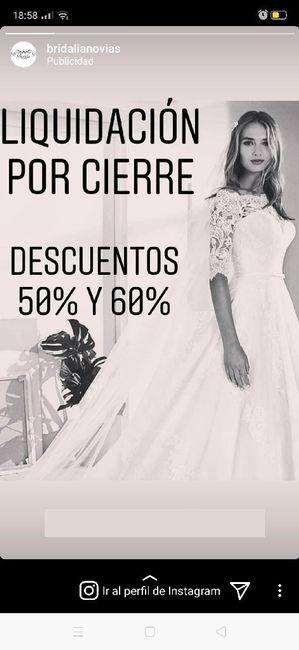 Vestidos de novia al 50% - 60% en Málaga 1