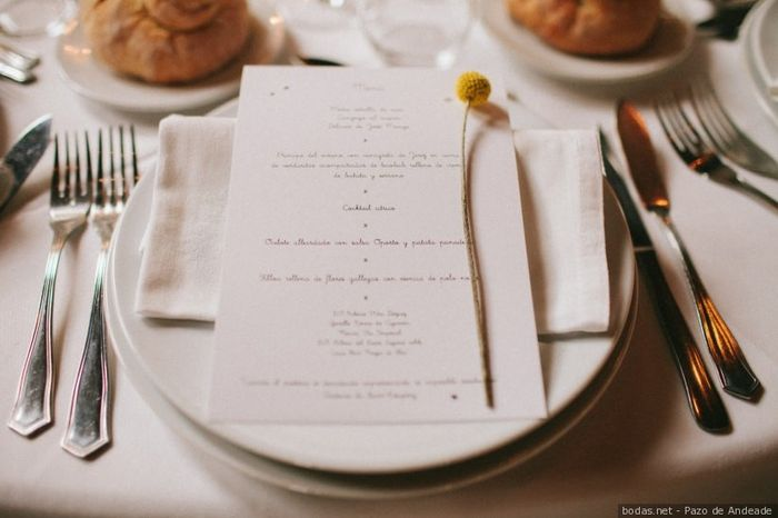 ¿Cuál va a ser el plato fuerte de tu boda? 🍗🥩🦞️ 1