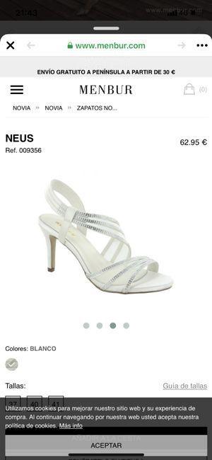 ¿Qué zapatos de novia os gustan más? 3