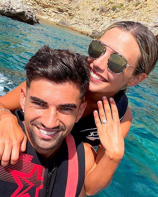 Enzo Zidane y Karen Gonçalvez se comprometen 💍 1