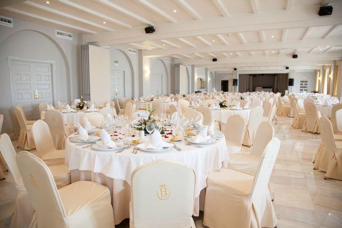 ¿Banquete interior o exterior? 2
