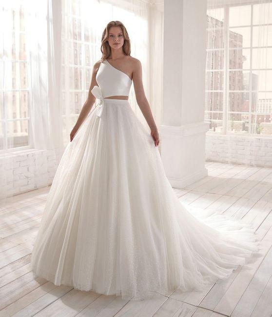¿Darías el 'Sí, quiero' con este vestido? 1