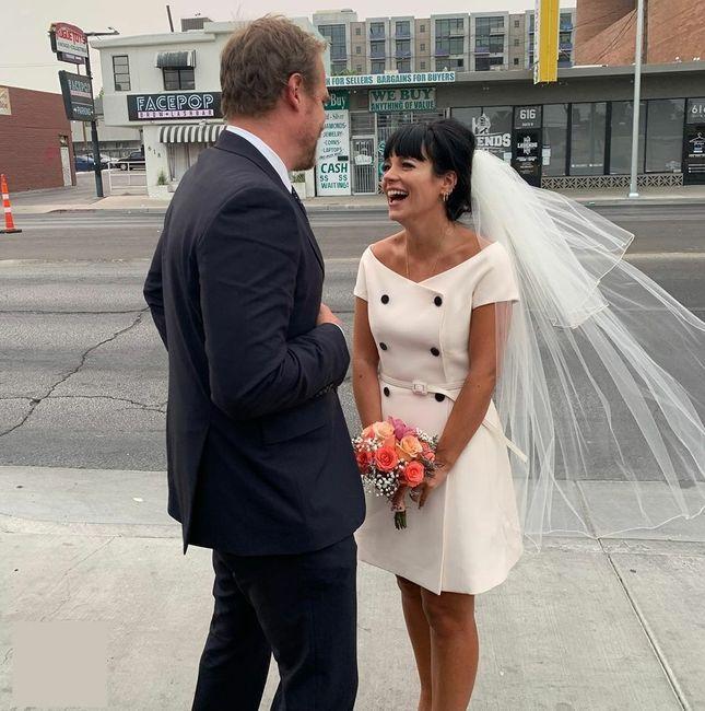 Lily Allen se casa con David Harbour en Las Vegas 💍 1