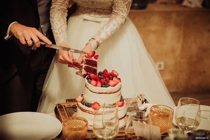 ¿De qué sabor os gustaría que fuera vuestra tarta de boda? 1