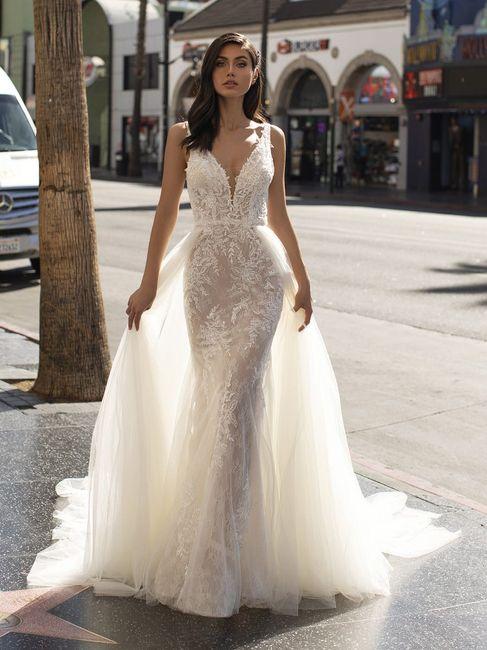 ¿Qué opinas de los vestidos con sobrefalda? 👗 1