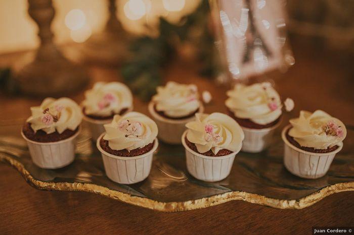 ¿Incluiréis cupcakes en vuestra mesa dulce? 🍭 1