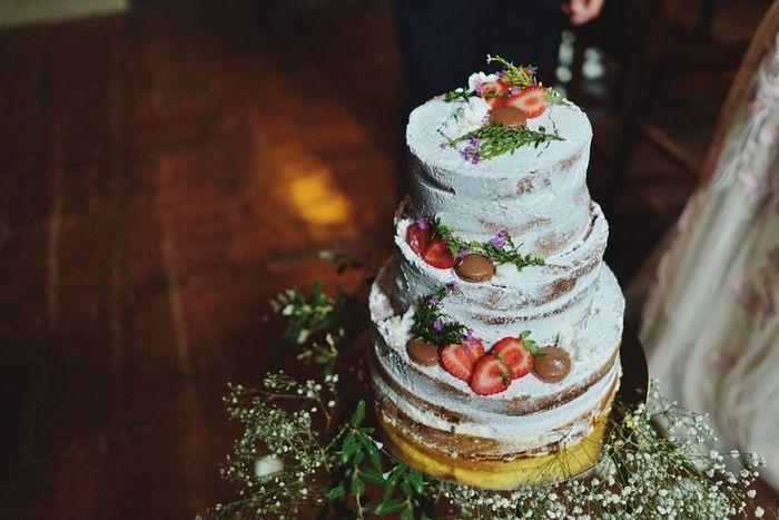 Nuestra tarta tendrá tres pisos, ¿V o F? 2