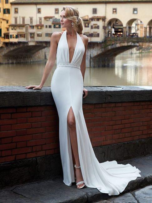 ¿Qué te parece este vestido de corte en A? 1