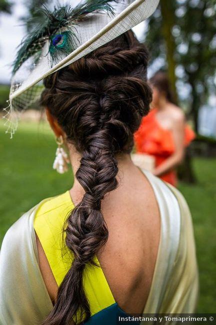 Este peinado: ¿Para invitada o novia? 1