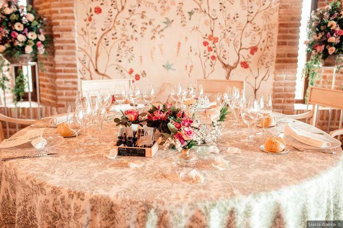 Las mesas: ¿blancas o de color? 3