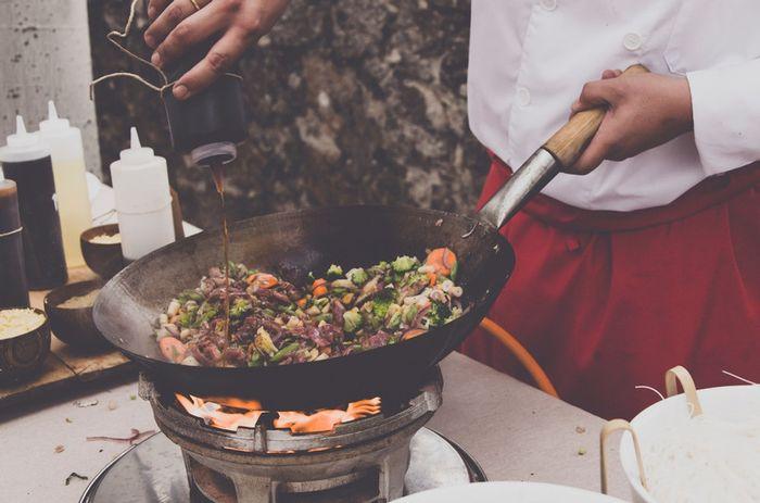 ¿Tendréis un puesto de wok en el aperitivo? 1