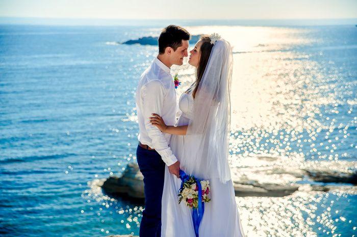 ¿Te gustaría casarte frente al mar? 😍 1