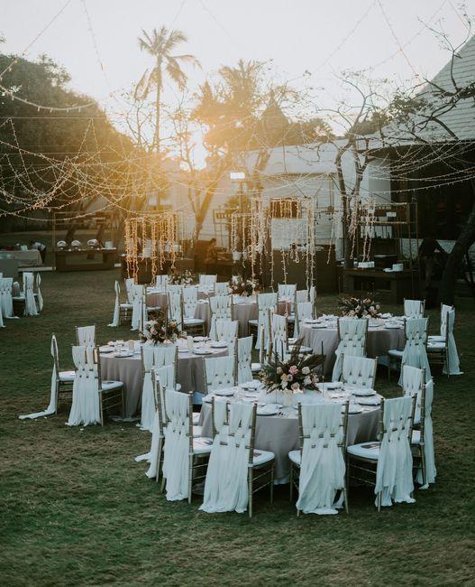 Tendencias 2021: boda al aire libre 2