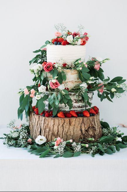 Mi tarta de boda será con fruta, ¿afirmativo o negativo? 2