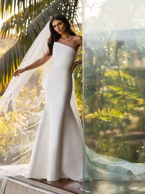 Vestido de novia minimalista: ¿Sí o no? 1