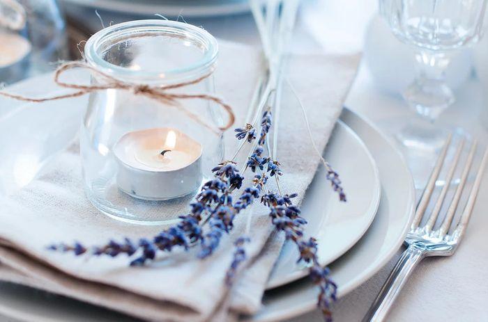 ¿Incluiréis plantas aromáticas en la decoración de vuestra boda? 1