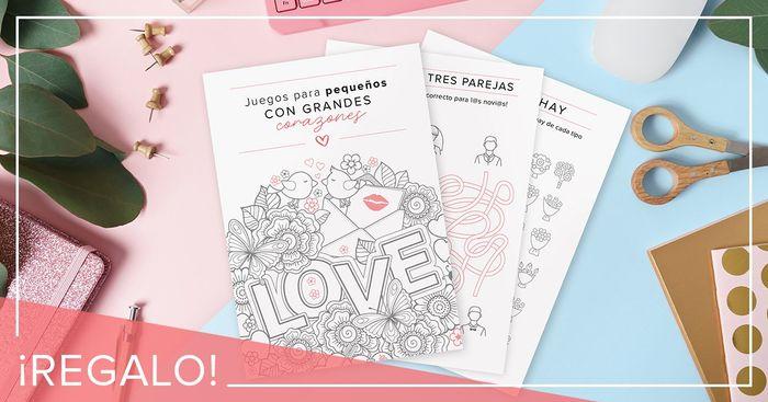 ¡Te regalamos el cuaderno infantil más divertido para tu boda! 🎨 1