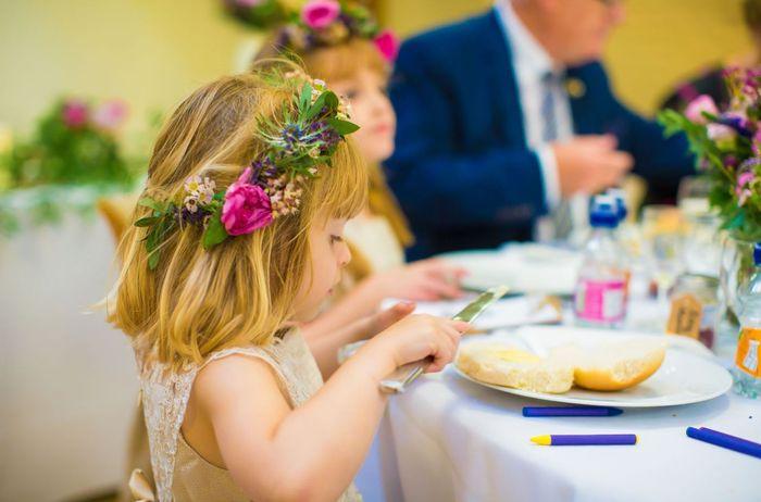 Los peques: ¿En una mesa aparte o con sus familiares? 2