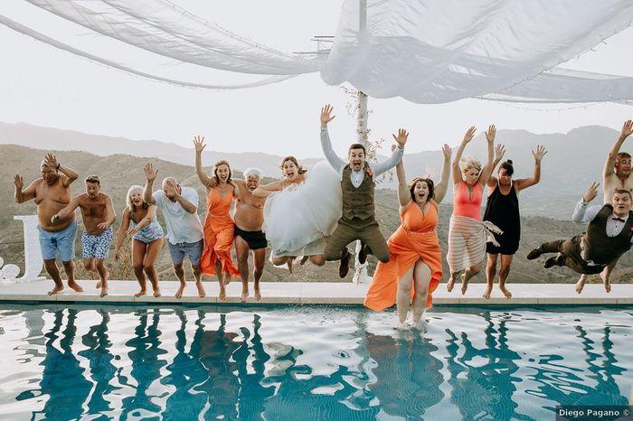 ¿Acabarías la fiesta de tu boda así? 😜 1