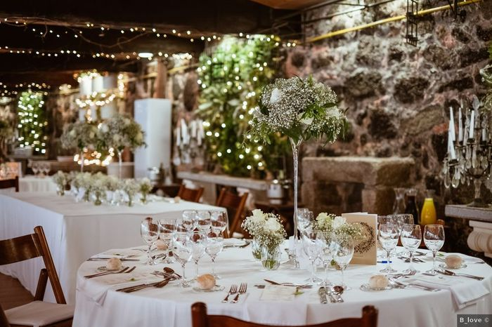 Centros de mesa altos, ¡dale un toque diferente a tu boda! 1