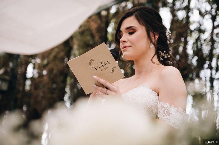 ¿Intercambiaréis vuestros votos matrimoniales durante la ceremonia? 💍 1