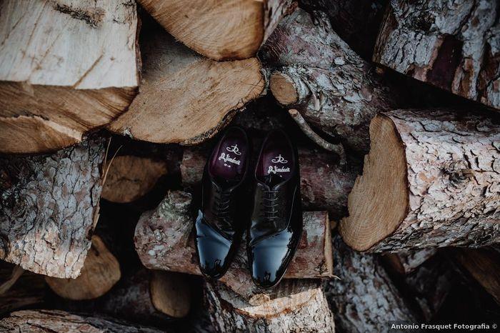 Zapatos de charol, ¿pinta 👍 o no pinta 👎 novios? 1