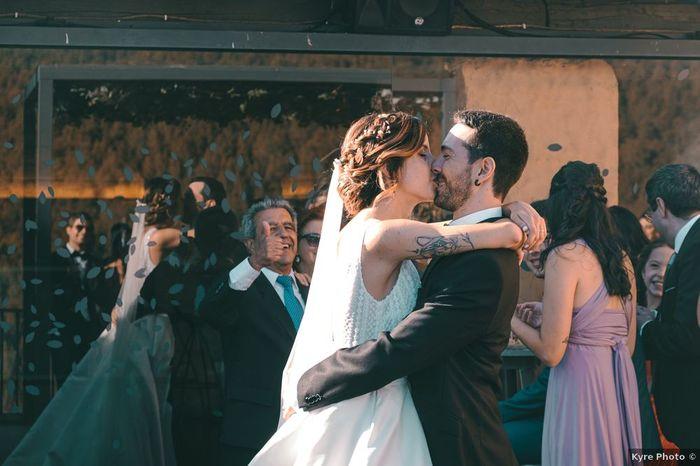Después del 'Sí, quiero': ¿Beso o abrazo? 2