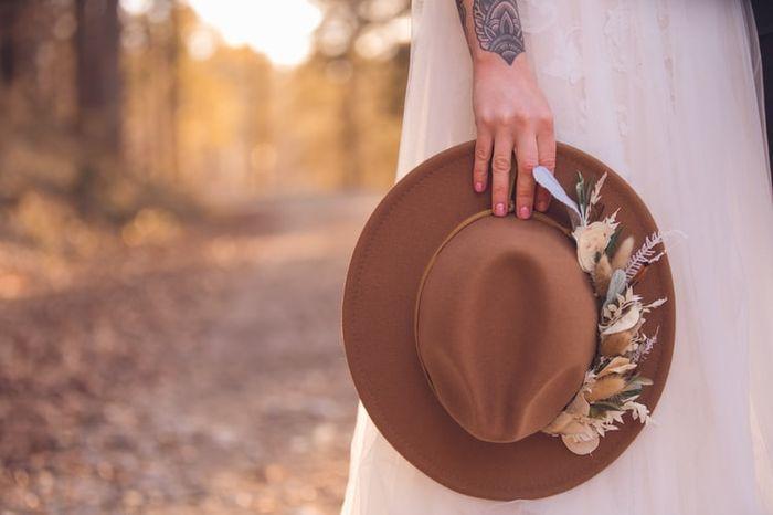 ¿Lucirías este sombrero en tu boda? 1