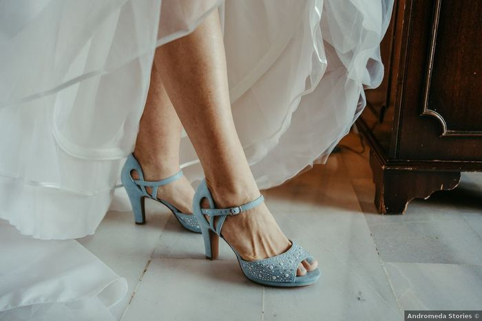 """¿Podrían ser estos zapatos tu """"algo"""" azul? 1"""