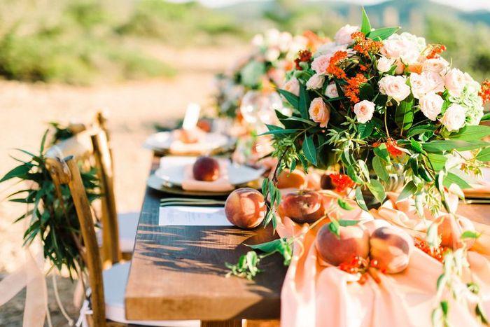 Centros de mesa con frutas, ¿cuál te gusta más? 😊 1