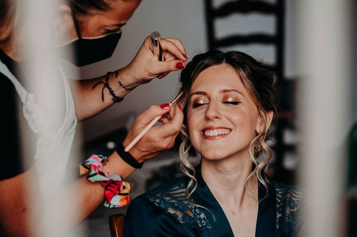 ¿Tu maquillaje será efecto glitter? 1