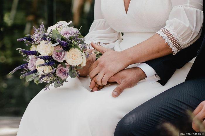 ¿Incluirás un toque de lavanda en tu ramo de novia? 1