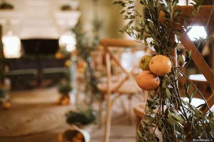 ¿Decorarías tu ceremonia con naranjas? 🍊 - 2