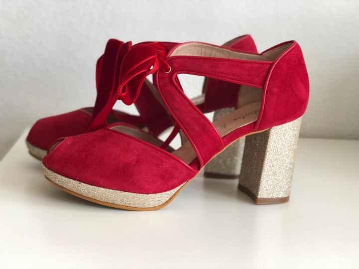 Zapatos de novia de colores - 1