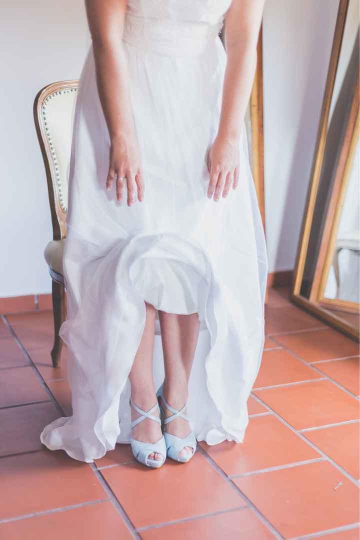 Zapatos color/zapatos blancos - 1
