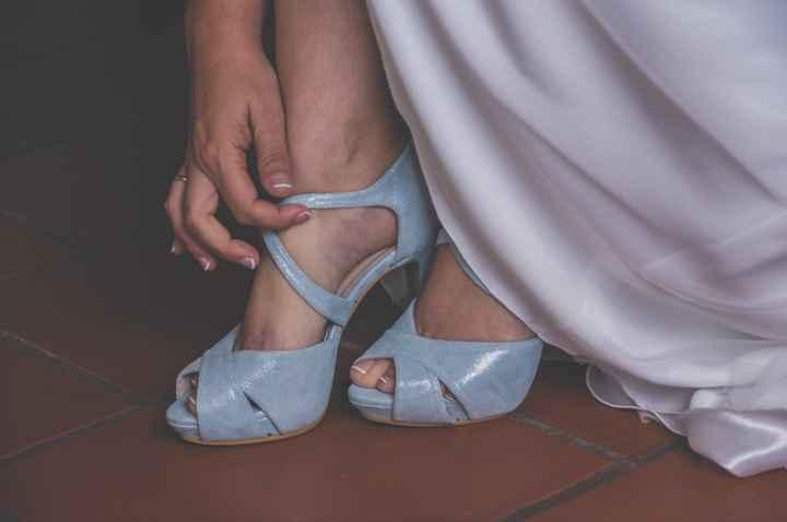 Zapatos color/zapatos blancos - 2