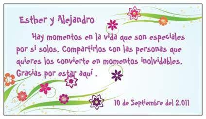 Tarjetas de agradecimiento por la visita al recien nacido - Imagui