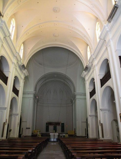 Iglesia por dentro
