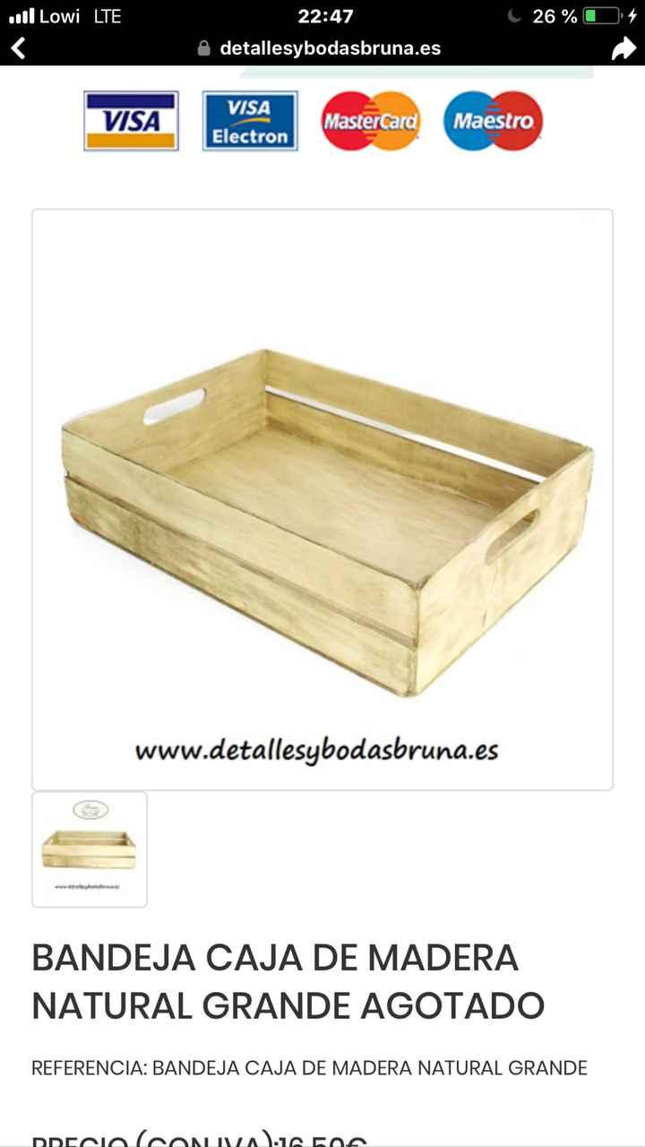 Cajas madera - 1
