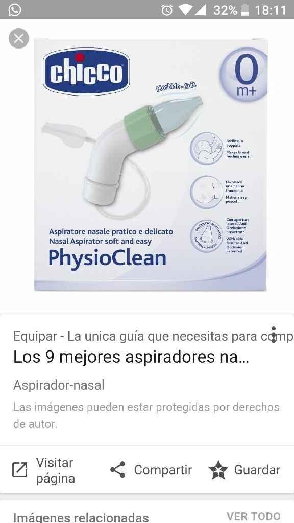 Aspirador nasal - 1