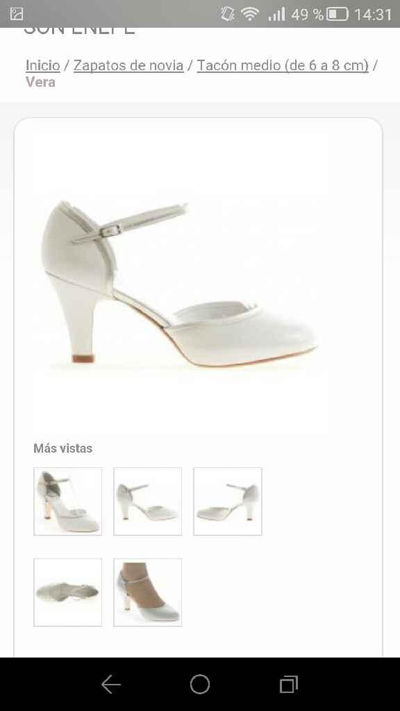 Mi búsqueda de zapatos - 1
