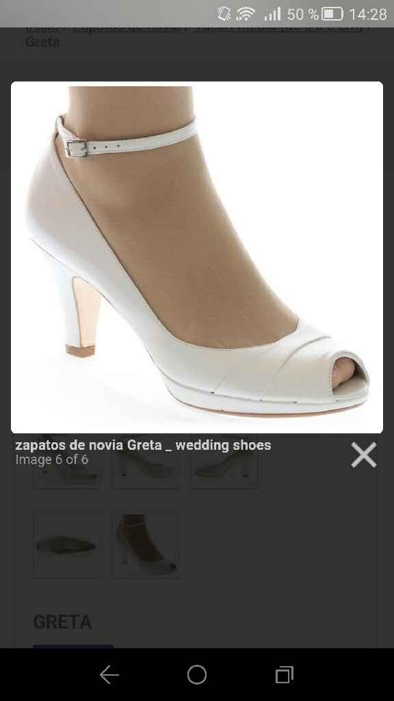 Mi búsqueda de zapatos - 2