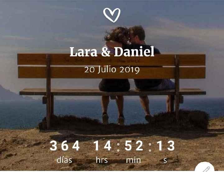 365 días 💕 - 1