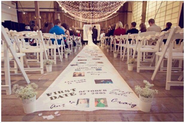 alfombra personalizada - cádiz - foro bodas