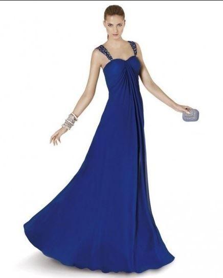 Vestidos fiesta azul cobalto