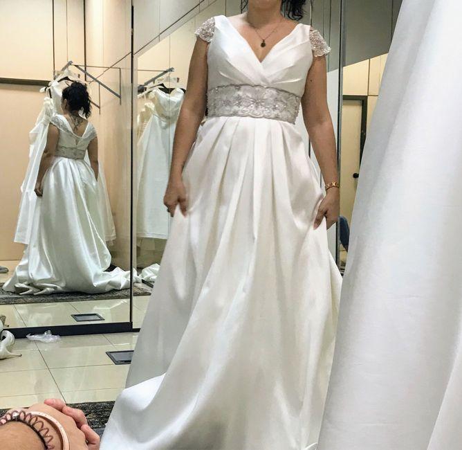 a 65 días y con dudas con el vestido... 1