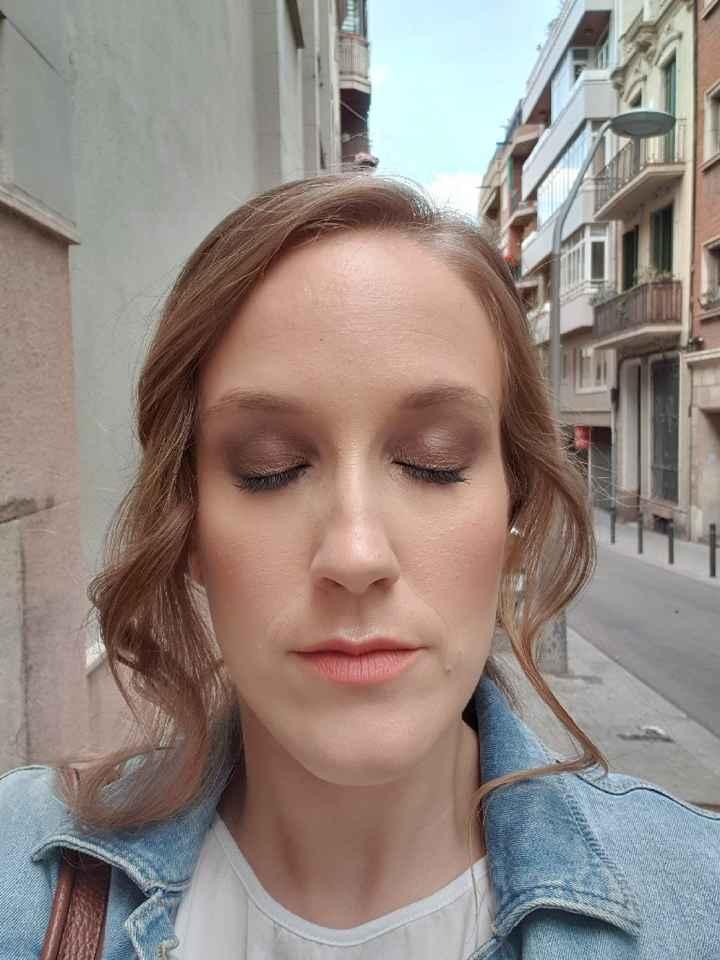 Prueba de maquillaje/peinado + 2a prueba vestido - 4