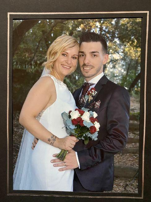 Novios que nos casamos el 1 de Agosto de 2020 en Barcelona 2